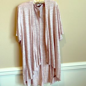 NWT❣️Lane Bryant pink marbled open cardigan ❣️NWT